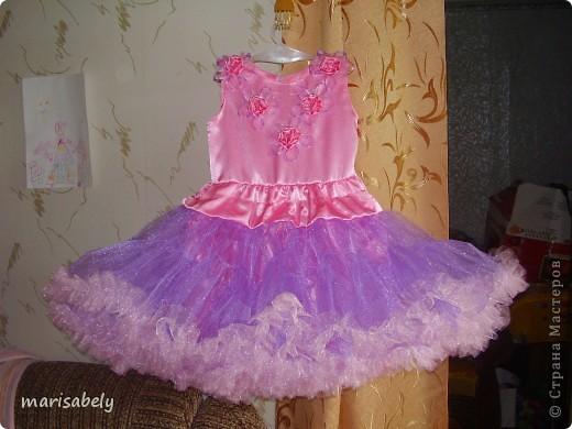 Это платье сшила дочке на выпускной в детский сад.  фото 2