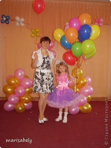 Это платье сшила дочке на выпускной в детский сад.  фото 3