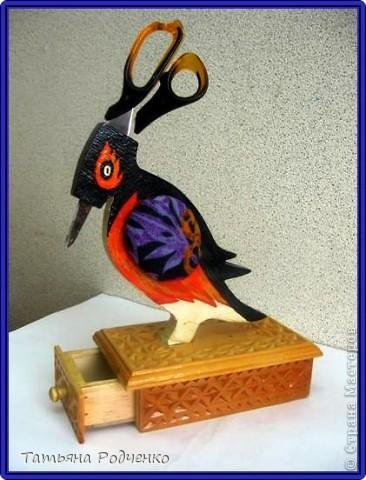 Шкатулка в подарок учителю швейного дела))) (игольница, шкатулка для принадлежностей)
