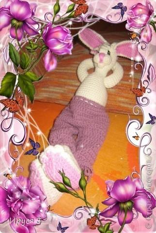 Зайка Виолетта фото 1