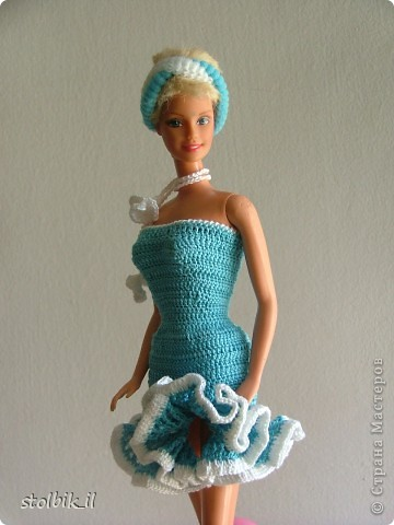 Вяжем крючком Платье для