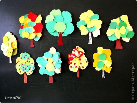 Изучали с детьми деревья. фото 15
