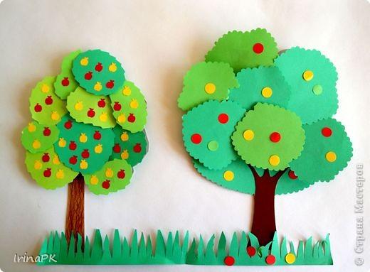Изучали с детьми деревья. фото 1