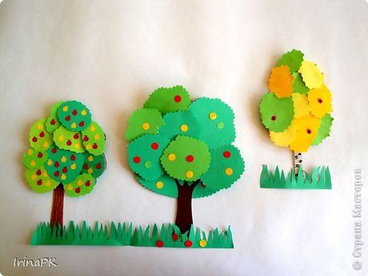 Изучали с детьми деревья. фото 4
