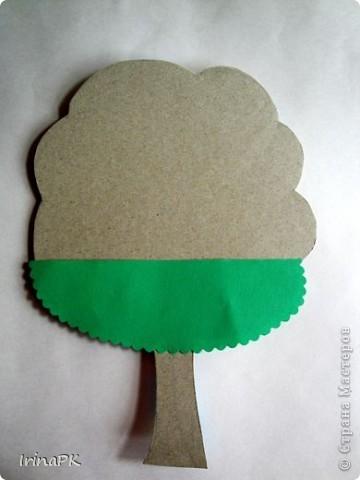Изучали с детьми деревья. фото 9