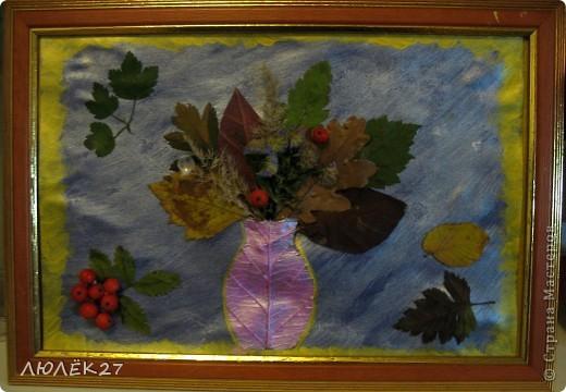 Картину делали с сыном для детского сада фото 2