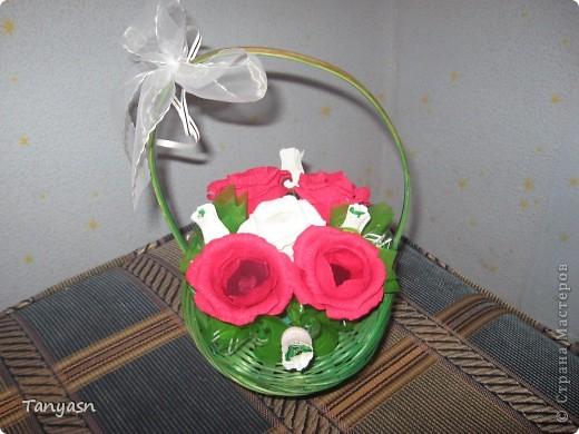 букет из конфет 2 фото 1