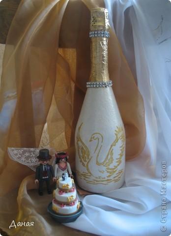 Свадебная бутылка... фото 3