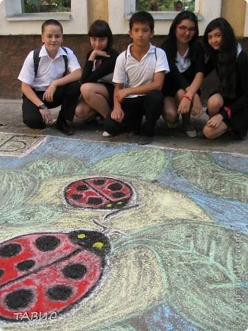 Чудесная работа учеников 9 класса В нашей школы. фото 4