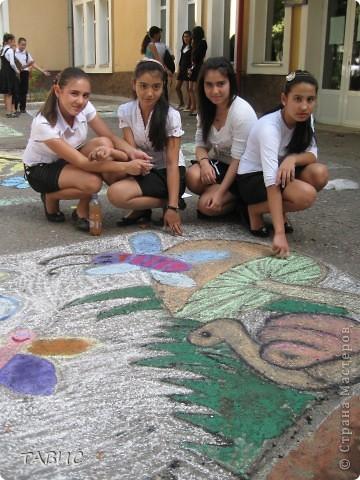 Чудесная работа учеников 9 класса В нашей школы. фото 6