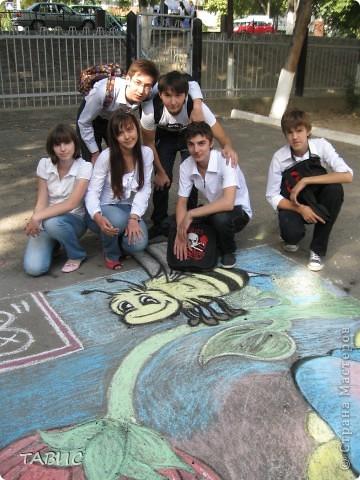 Чудесная работа учеников 9 класса В нашей школы. фото 3