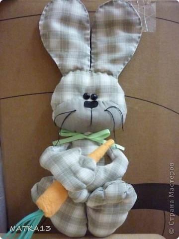 вот такие зайцы пошились у меня к новому году-году кролика фото 1