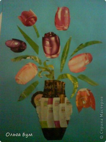 Коллаж- цветы.