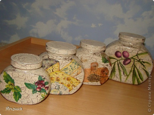 ваза из икеи, салфетка, акриловые краски, яичная скорлупа, лак фото 4