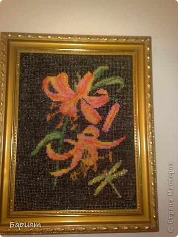 Картина панно рисунок Вышивка картины из бисера Бисер фото 8.
