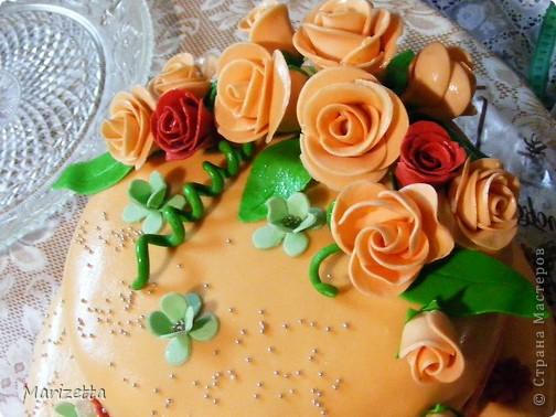 Мастичный тортик фото 2