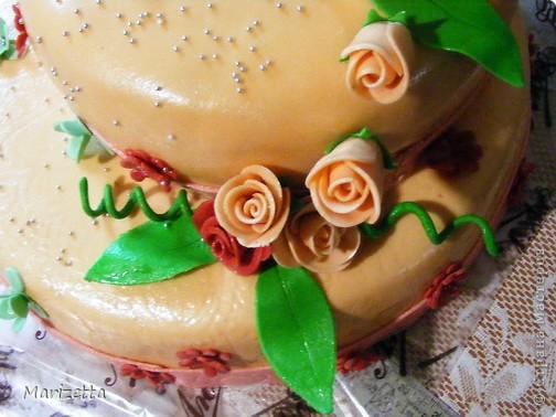 Мастичный тортик фото 3
