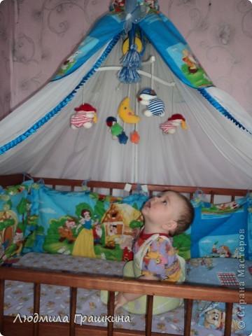 Мастер класс балдахина на детскую кроватку своими руками