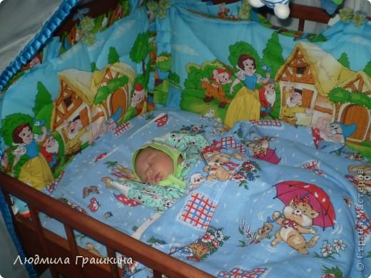 Балдахин в кроватку с бортиками фото 6