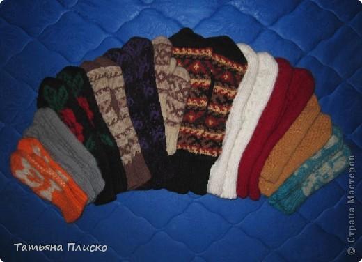 Скоро зима! Вяжем рукавички... фото 1