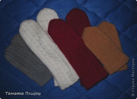 Скоро зима! Вяжем рукавички... фото 2