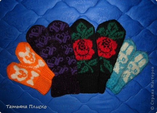 Скоро зима! Вяжем рукавички... фото 3