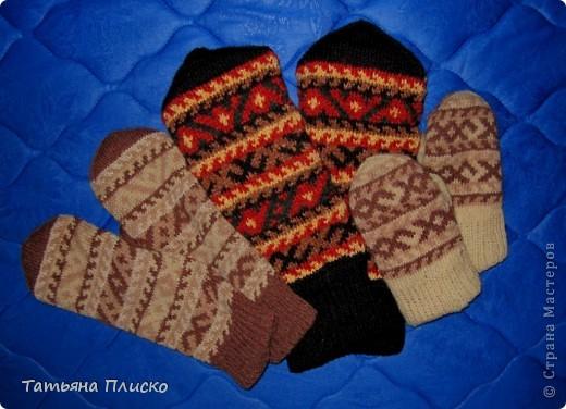 Скоро зима! Вяжем рукавички... фото 4