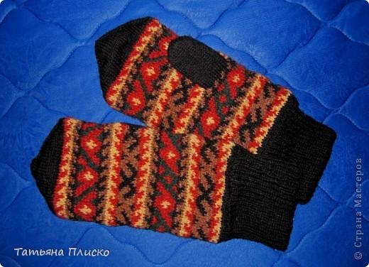 Скоро зима! Вяжем рукавички... фото 5