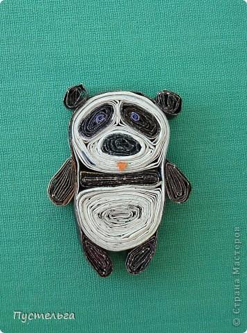 Большая панда – исчезающий вид, но только не в Стране Мастеров.