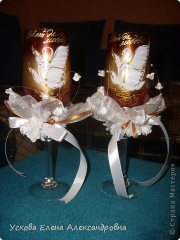 свадебные фужеры фото 1
