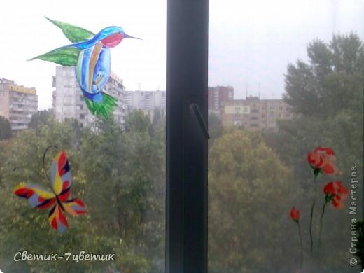 Я всегда стараюсь украсить как-то квартиру,а декор предметов я очень люблю.На дворе осень,а глядя в такое окошко,настроение поднимается)) фото 4