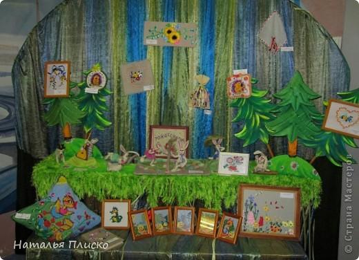 """Фрагмент выставки """"Волшебные пяльцы""""... фото 1"""