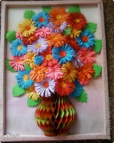 А вот и моя ваза с цветами