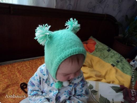 мой маленький бельчонок, правда шапочка уже маловата... фото 2