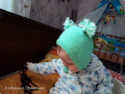 мой маленький бельчонок, правда шапочка уже маловата... фото 3