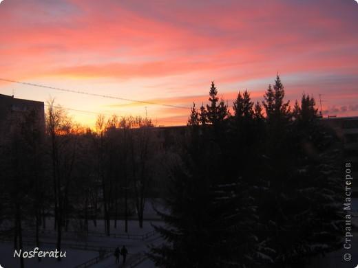 очень люблю смотреть на небо,особеннно из окна(не фотошоп) 5 ноября 2009г фото 3