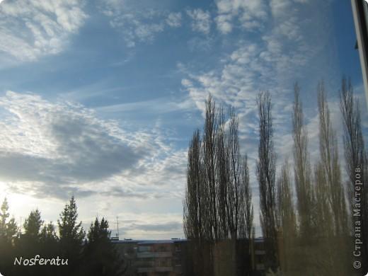 очень люблю смотреть на небо,особеннно из окна(не фотошоп) 5 ноября 2009г фото 7
