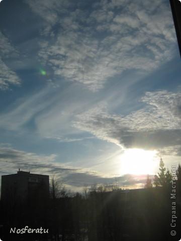 очень люблю смотреть на небо,особеннно из окна(не фотошоп) 5 ноября 2009г фото 8