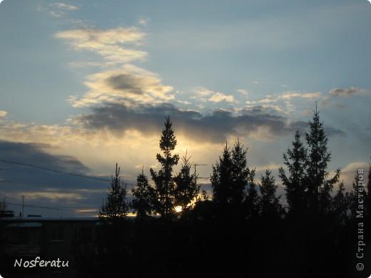 очень люблю смотреть на небо,особеннно из окна(не фотошоп) 5 ноября 2009г фото 9