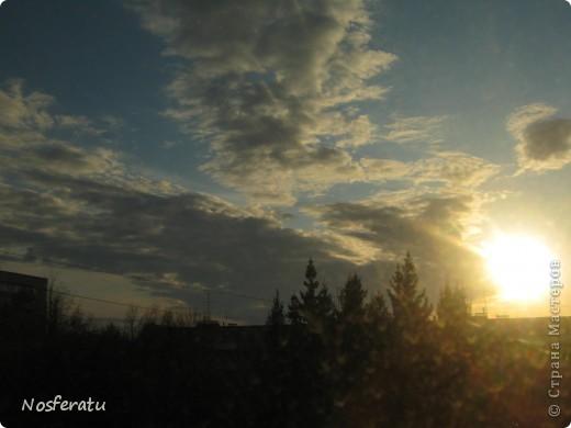 очень люблю смотреть на небо,особеннно из окна(не фотошоп) 5 ноября 2009г фото 18