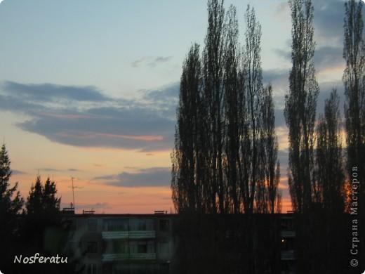 очень люблю смотреть на небо,особеннно из окна(не фотошоп) 5 ноября 2009г фото 21