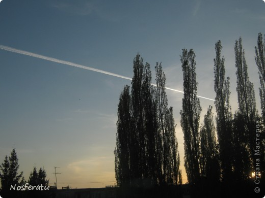 очень люблю смотреть на небо,особеннно из окна(не фотошоп) 5 ноября 2009г фото 23