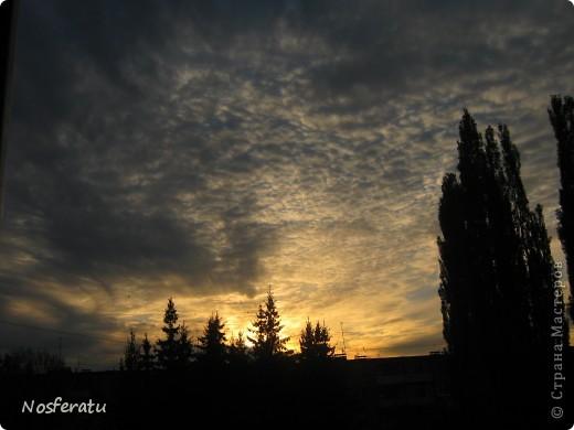 очень люблю смотреть на небо,особеннно из окна(не фотошоп) 5 ноября 2009г фото 31