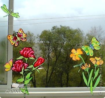 Бабочки и цветочки фото 4