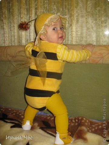 Костюм пчёлки на Новый год для дочки + МК