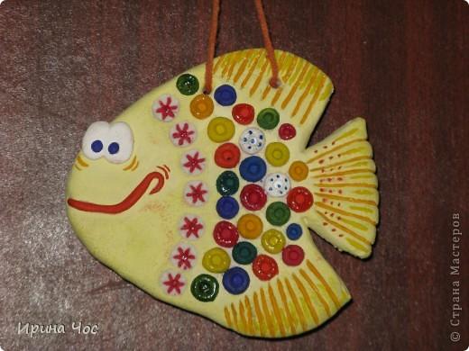 """Это моя первая """"солёная"""" рыбка. Огромное спасибо Кукушечке и всем-всем-всем за вдохновение....:)))"""