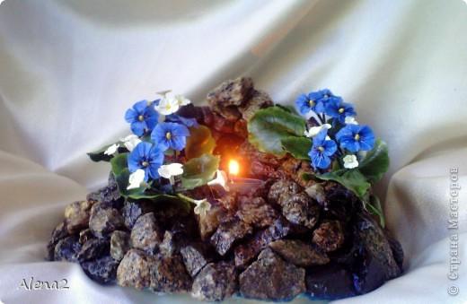 Свеча в граните. фото 4