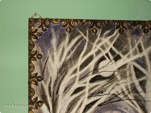 Когда я увидела иллюстрации книги стихов художницы Шеваревой - сразу поняла что обязательно попробую нарисовать, ведь если учиться то у хорошего мастера. Сначала сделала панно с помощью макарон, а теперь вот нарисовала, а как - судить вам. фото 2