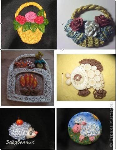 Начало)) самые первые работы из соленого теста Корзина с фруктами, синие мышки и леопардик фото 2