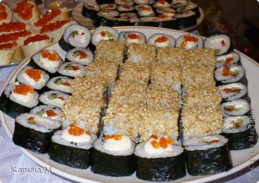 Суши и ролы фото 1